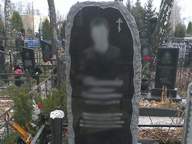 Надгробный памятник из искусственного мрамора